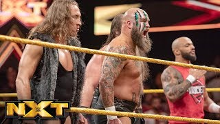 Pete Dunne helps Ricochet and War Raiders fight off Undisputed ERA: WWE NXT, Oct. 31, 2018