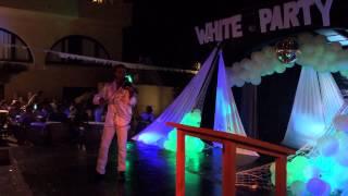Ibiza david guetta violin white party