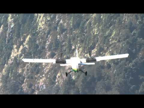Lukla take-off