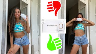 Review of Hey Silk Skin laser hair removal at home/ Plus experience  of buying it