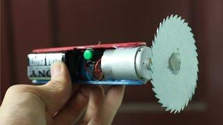 Cara membuat alat dremel - mesin pemotong