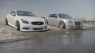 Infiniti G37 Coupe & Chrysler 300 (Bagged)