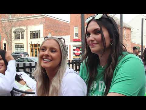 Green Beer day looks slightly different in 2021 with COVID restrictions, but people in Athens, OH made the most of the beautiful weather Wednesday afternoon.  Video by: Ethan Sands and Riley Runnells  Editing by: Ethan Sands Visit our website: https://www.thepostathens.com/  Find us on social media: Instagram: https://www.instagram.com/thepostathens/ Twitter: https://twitter.com/ThePost Facebook: https://www.facebook.com/ThePostAthens