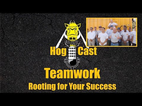 Hog Cast - Teamwork