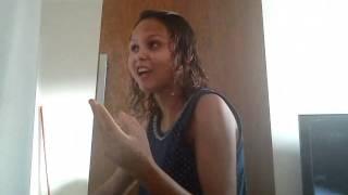 Aline dando broca no rui