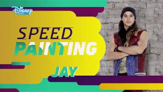 Os Descendentes 2: Speed Painting - Jay