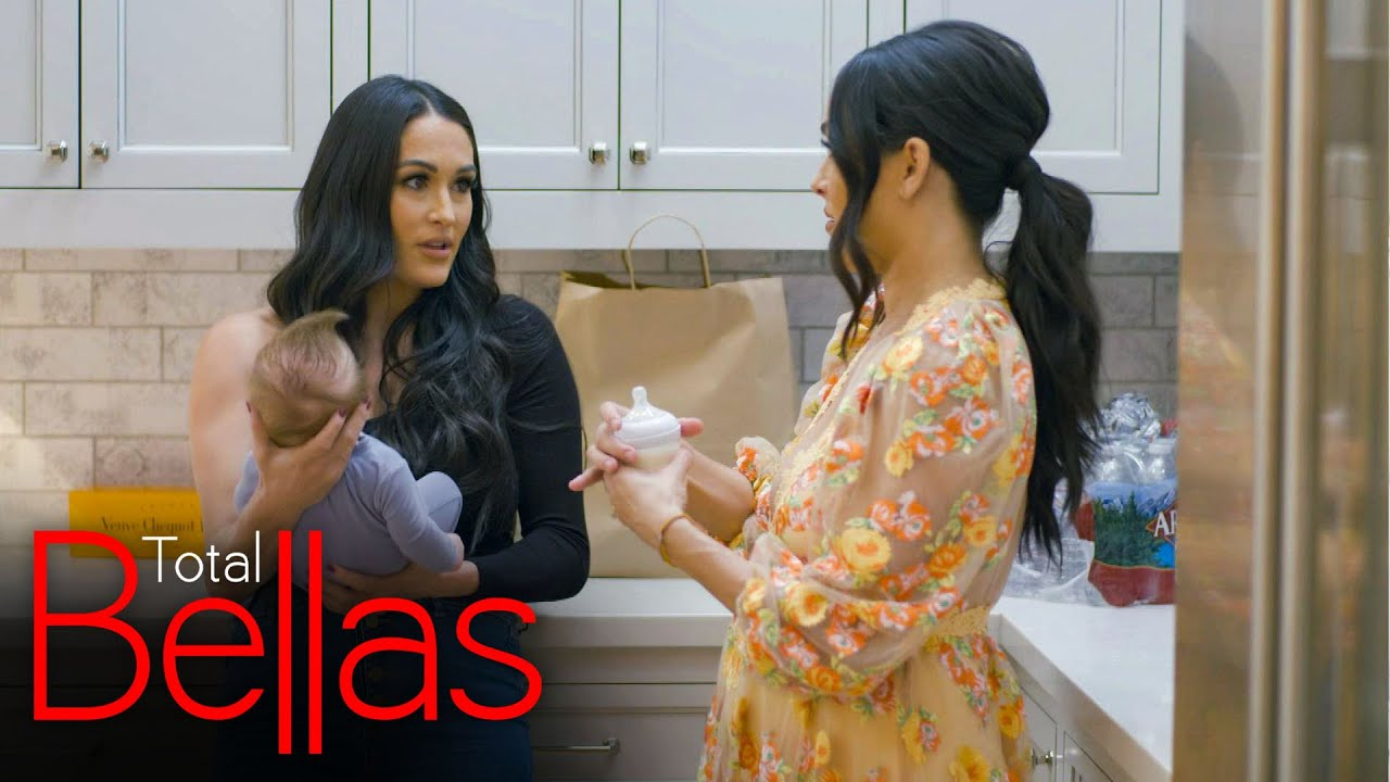 """WWE - Nikki hosts a watch party of Artem's """"Dancing with the Stars"""" return: Total Bellas, Jan. 21, 2021"""