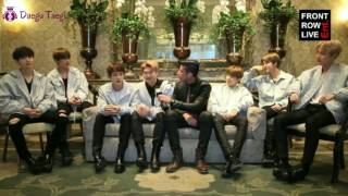 [INDOSUB] BTS Interview at Front Raw Live width=