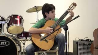 Juan José Borrero Mejía - Romance anónimo (guitarra) LIVE