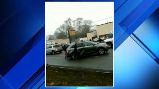 Reckless driver wreaks havoc on 8 Mile Road