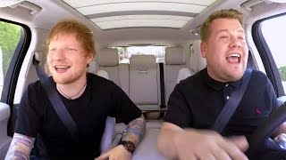 Ed Sheeran Raps With James Corden in Epic 'Carpool Karaoke' Sneak Peek: Watch!