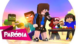 Minecraft: PARÓDIA SUA CARA (Major Lazer feat. Anitta e Pablo Vittar) - COM UMA ESPADADA 🎵