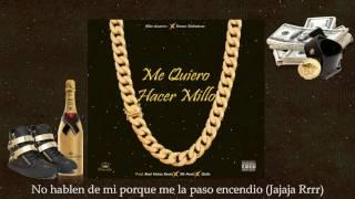 Me Quiero Hacer Millo - Kike Acurero ❌ Kenzo Sinfonicou [Lyric Video]
