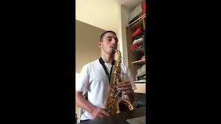 Cover Saxophone - Taki Taki Dj Snake ft Selena Gomez, Ozuna, Cardi B
