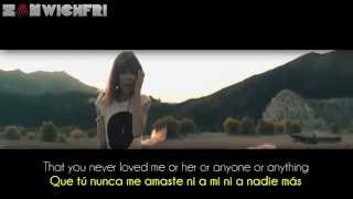 Taylor Swift ~ I Knew You Were Trouble (Lyrics Sub. Spanish/Español) [HD] Official Video