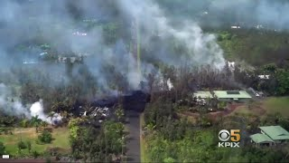 Family Moves from Wildfire-Scorched North Bay to Hawaii Home in Lava's Path