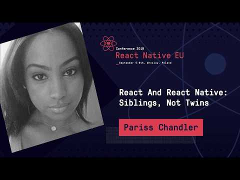 React And React Native: Siblings, Not Twins
