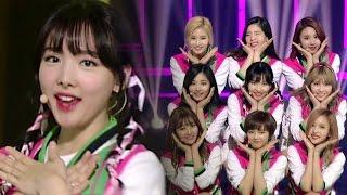 《EXCITING》 TWICE(트와이스) - CHEER UP @인기가요 Inkigayo 20160515