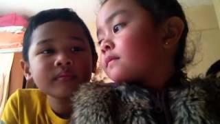 Singing Twinkle, Twinkle, Little Star with Karaoke Kids 02.20.14 06:30