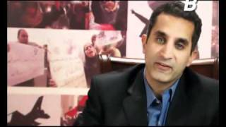 B+ Episode 4 -باسم يوسف شو (مع عفاف شعيب) الحلقة ٤