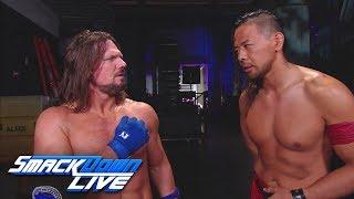 AJ Styles thanks Shinsuke Nakamura: SmackDown LIVE, March 13, 2018