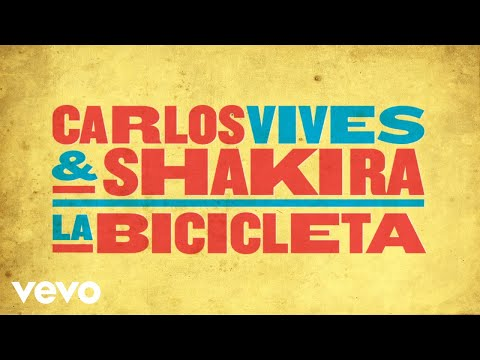 Carlos Vives, Shakira - La Bicicleta (Cover Audio)