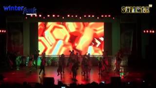 Sanjay Dutt Medley - Shiamak Winter Funk 2013 - Bangalore - Zone 1