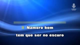 ♫ Karaoke NAMORO NO ESCURO - Zé Amaro