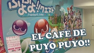 Puyo Puyo Quest Cafe. Fukuoka, Japan  2015