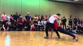 Miguel and Susana - Semba Impro - Afrolatin Vegas 2016