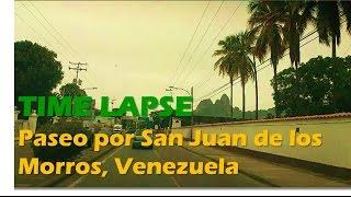 Time Lapse Paseo por San Juan de los Morros, Venezuela
