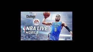 Challenge #3- Three point challenge! [NBA LIVE MOBILE ITA]
