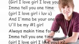 Justin Bieber One time  My heart edition tru jackson vp) [HQ] W  Lyrics