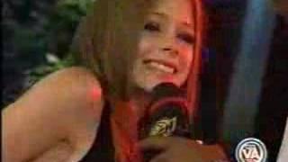 Avril Lavigne atrevida