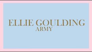 Ellie Goulding - Army (Audio)