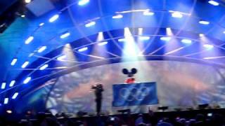 DeadMau5 Live at The 2010 Winter Olympics Medals Ceremony Whistler