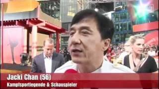 Bild TV - Roter Teppich Jackie Chan, Jaden Smith & Will Smith