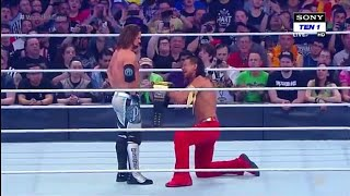 Sinsuke Nakamura Attack Aj Style Main Part WrestleMania 34 Full Match 2018 Highlights
