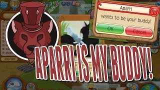 Aparri Is My Buddy! Request Sent During Livestream