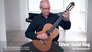 Silver Sand Rag - Danish Guitar Performance - Soren Madsen