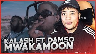 Kalash - Mwaka Moon ft. Damso - REACTION
