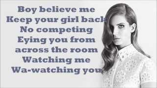 Lana Del Rey - Hit and Run Lyrics