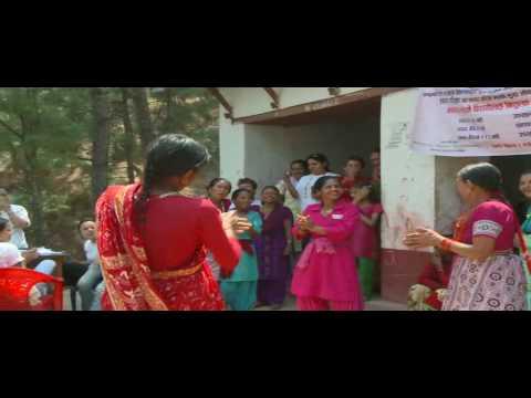 Women in Timal, near Gorkha, Nepal