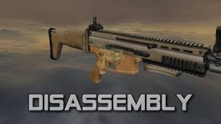 FN SCAR-L (full disassembly and operation)