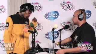 J Cruz with Wiz Khalifa live at POWERHOUSE