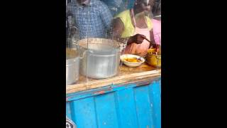Man Starts Fight with Beans & Plantain Seller
