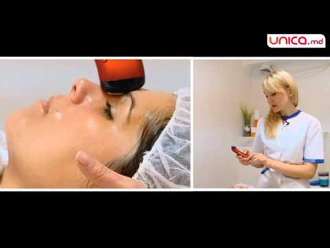 Împachetare cu nămol, Hidratarea tenului cu curenți galvanici, Program facial Frumusețea Instantanee