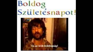 Halász Judit feat. Matisz Nagypapa: Boldog születésnapot!