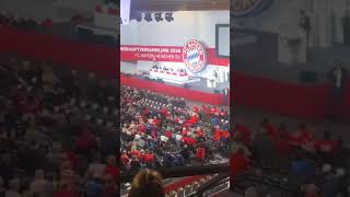 FC Bayern München - Jahreshauptversammlung 2018 - Kritik an der Vereinsführung