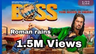 BOSS Teaser Trailer | feat ROMAN REIGNS |Video Thakor Kiran (TK)